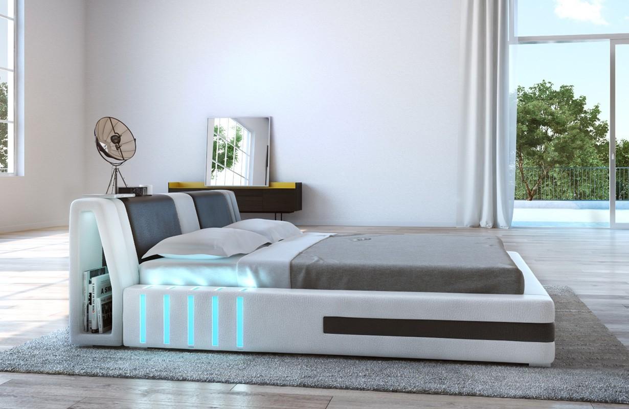 Čalouněná postel VENUM s LED osvětlením