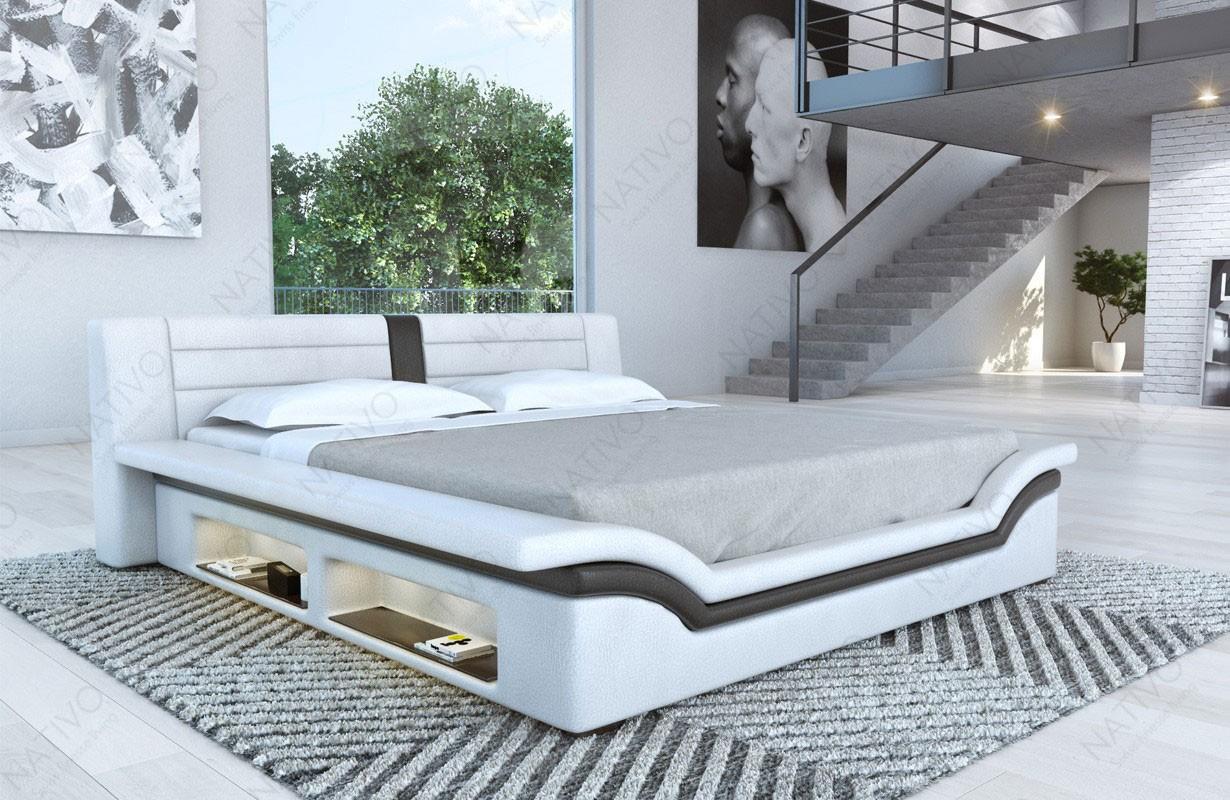 Čalouněná postel EVERLAST s LED osvětlením