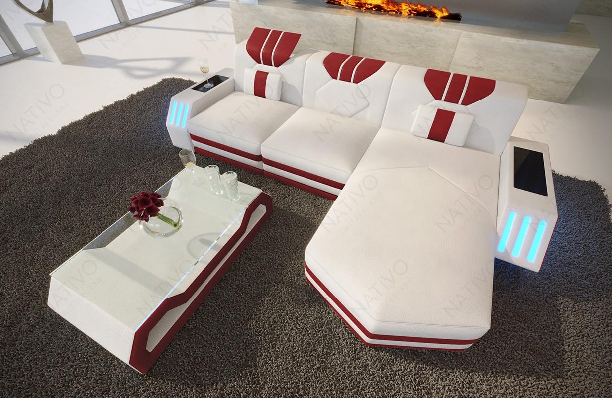 Designová sedací souprava CLERMONT MINI s LED osvětlením